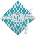 Geometric Diamond Napkins (Set of 4) (Personalized)