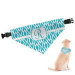 Geometric Diamond Dog Bandana (Personalized)