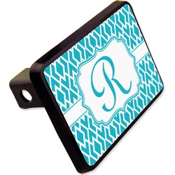 "Geometric Diamond Rectangular Trailer Hitch Cover - 2"" (Personalized)"