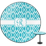 Geometric Diamond Round Table (Personalized)