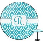 Geometric Diamond Round Table (Personalized)