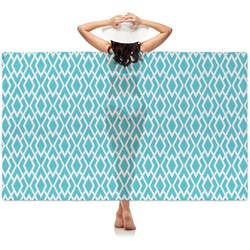 Geometric Diamond Sheer Sarong (Personalized)