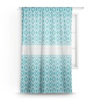 Geometric Diamond Sheer Curtains (Personalized)
