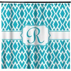 Geometric Diamond Shower Curtain (Personalized)