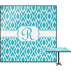 Geometric Diamond Square Table Top (Personalized)