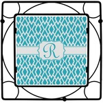Geometric Diamond Square Trivet (Personalized)