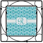 Geometric Diamond Square Trivet (Personalized)