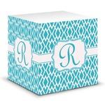 Geometric Diamond Sticky Note Cube (Personalized)