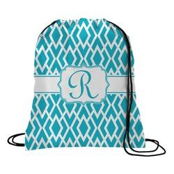 Geometric Diamond Drawstring Backpack (Personalized)