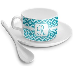 Geometric Diamond Tea Cup - Single (Personalized)