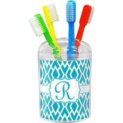 Geometric Diamond Toothbrush Holder (Personalized)