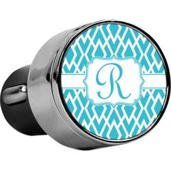 Geometric Diamond USB Car Charger (Personalized)