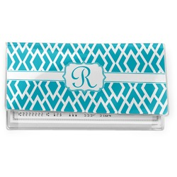 Geometric Diamond Vinyl Checkbook Cover (Personalized)