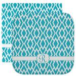 Geometric Diamond Facecloth / Wash Cloth (Personalized)