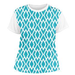 Geometric Diamond Women's Crew T-Shirt (Personalized)