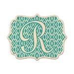 Geometric Diamond Genuine Wood Sticker (Personalized)