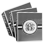 Houndstooth 3-Ring Binder (Personalized)