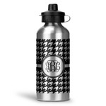 Houndstooth Water Bottle - Aluminum - 20 oz (Personalized)
