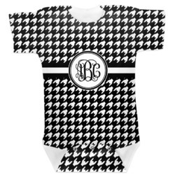 Houndstooth Baby Bodysuit (Personalized)