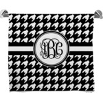 Houndstooth Bath Towel (Personalized)