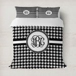 Houndstooth Duvet Covers (Personalized)