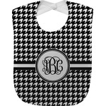 Houndstooth Baby Bib (Personalized)