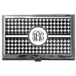Houndstooth Business Card Case