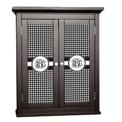 Houndstooth Cabinet Decal - Custom Size (Personalized)