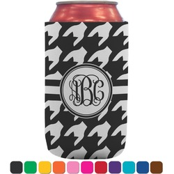 Houndstooth Can Sleeve (12 oz) (Personalized)