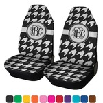 Houndstooth Car Seat Covers (Set of Two) (Personalized)
