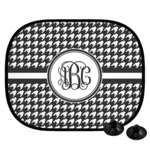 Houndstooth Car Side Window Sun Shade (Personalized)
