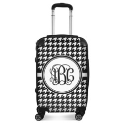 Houndstooth Suitcase (Personalized)