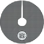 Houndstooth Tree Skirt (Personalized)