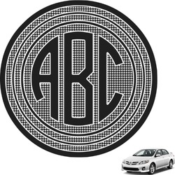 Circle Monogram Car Decal Design Your Own You Customize It - Make your own car decal