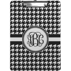 Houndstooth Clipboard (Personalized)