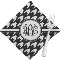 Houndstooth Cloth Napkins (Set of 4) (Personalized)