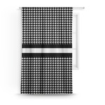 Houndstooth Curtain (Personalized)