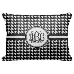 "Houndstooth Decorative Baby Pillowcase - 16""x12"" (Personalized)"