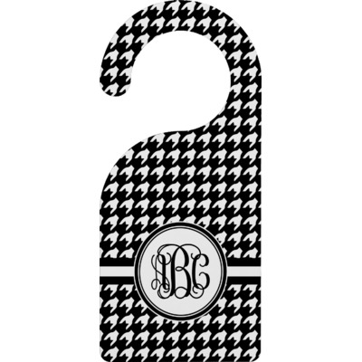 Houndstooth Door Hanger (Personalized)