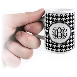 Houndstooth Espresso Cups (Personalized)