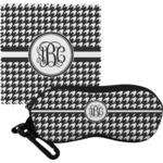 Houndstooth Eyeglass Case & Cloth (Personalized)