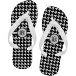Houndstooth Flip Flops (Personalized)