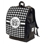 Houndstooth Backpack w/ Front Flap  (Personalized)