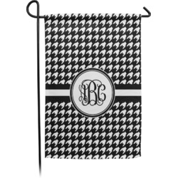 Houndstooth Garden Flag - Single or Double Sided (Personalized)