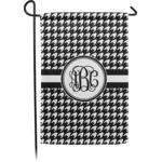 Houndstooth Garden Flag (Personalized)