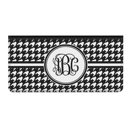 Houndstooth Genuine Leather Checkbook Cover (Personalized)