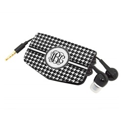 Houndstooth Genuine Leather Cord Wrap (Personalized)