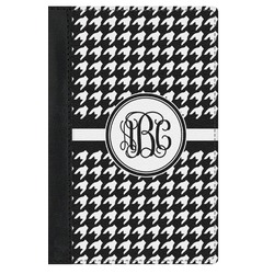 Houndstooth Genuine Leather Passport Cover (Personalized)