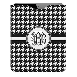 Houndstooth Genuine Leather iPad Sleeve (Personalized)