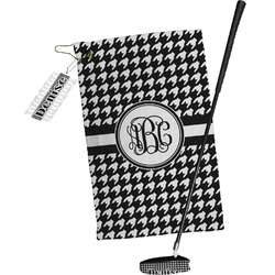 Houndstooth Golf Towel Gift Set (Personalized)